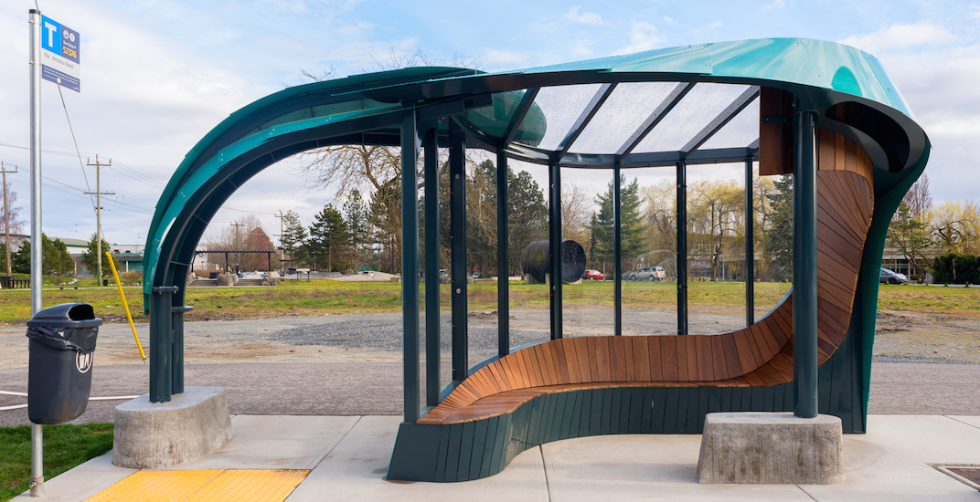 This is Metro Vancouver's fanciest transit bus shelter (PHOTOS)