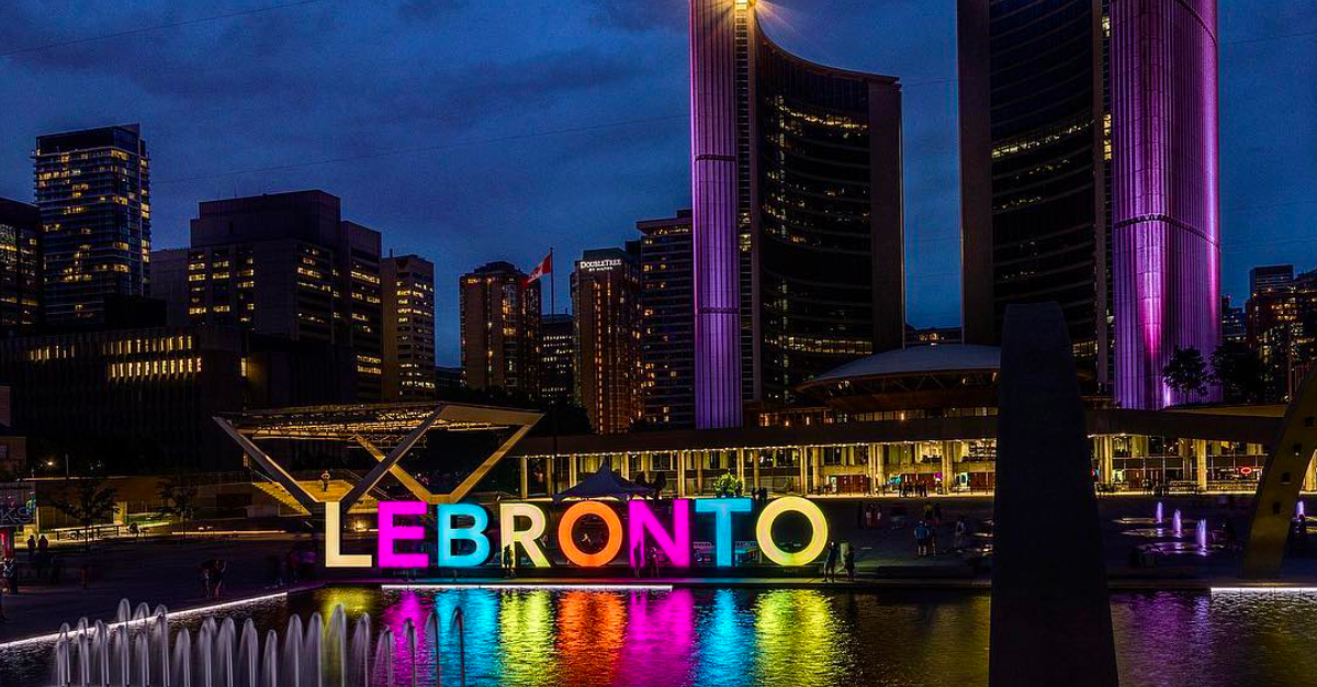 People are now calling the city 'Lebronto' (PHOTOS)