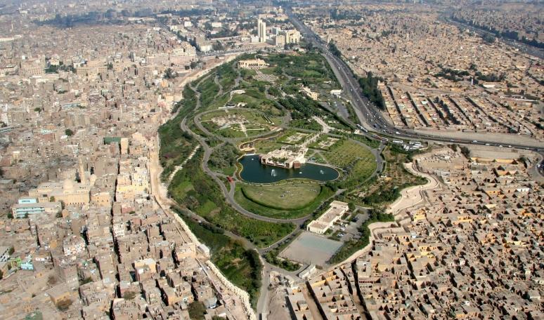 cairo Egypt al Azhar park aga khan