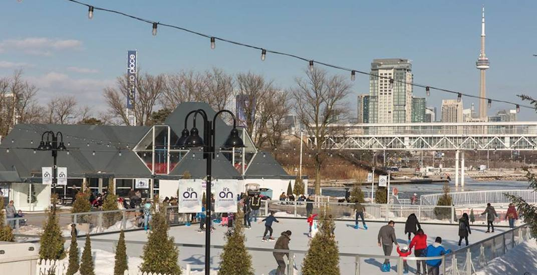 Toronto is getting its first outdoor summer skating rink