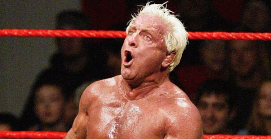 Even Ric Flair is trolling the Toronto Raptors right now