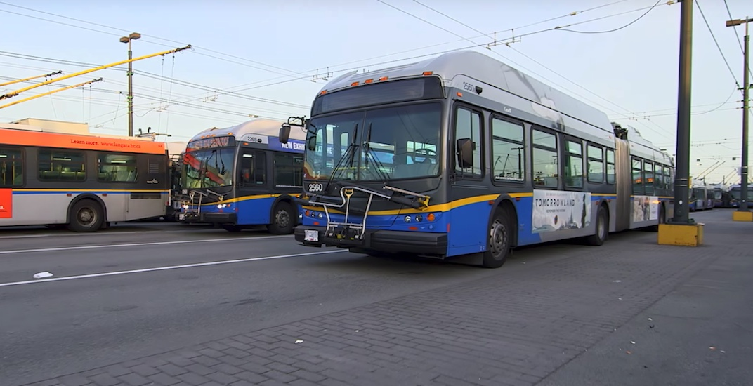 Translink buses vancouver