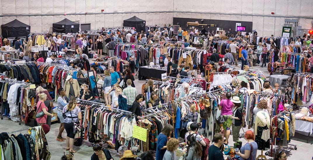 There's a huge movie wardrobe sale happening in Toronto this