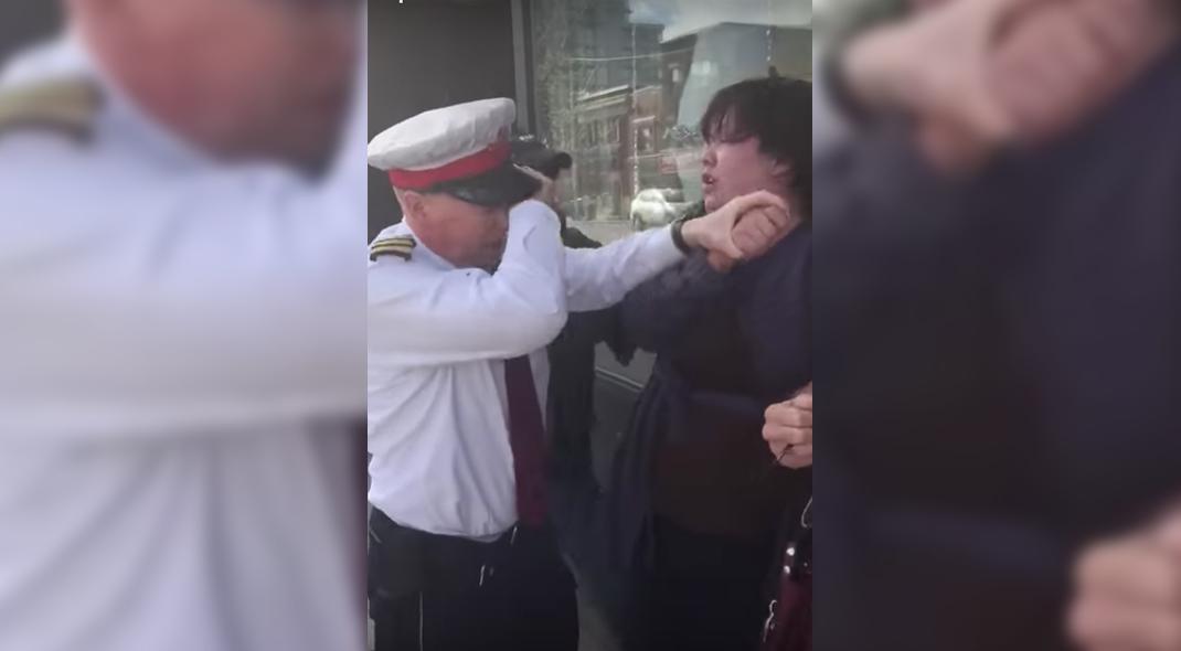 Video captures woman assaulting TTC Supervisor prior to her arrest