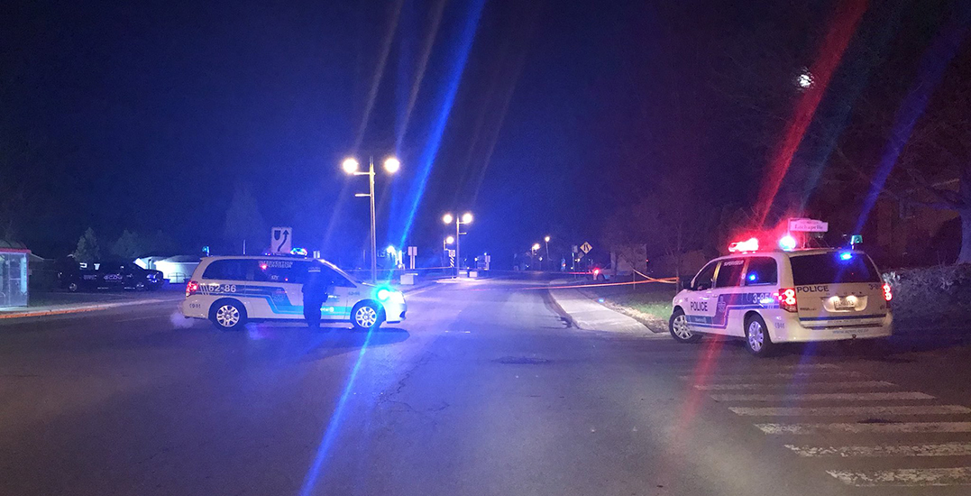Montreal police are investigating an attempted murder in Ville Marie