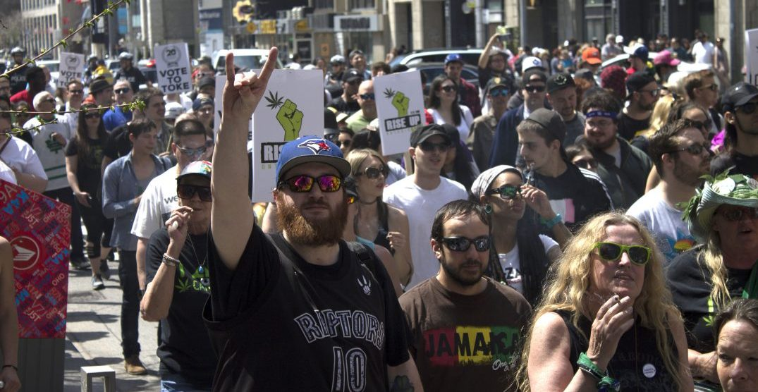 Toronto police warn of traffic delays ahead of Global Marijuana March on May 4