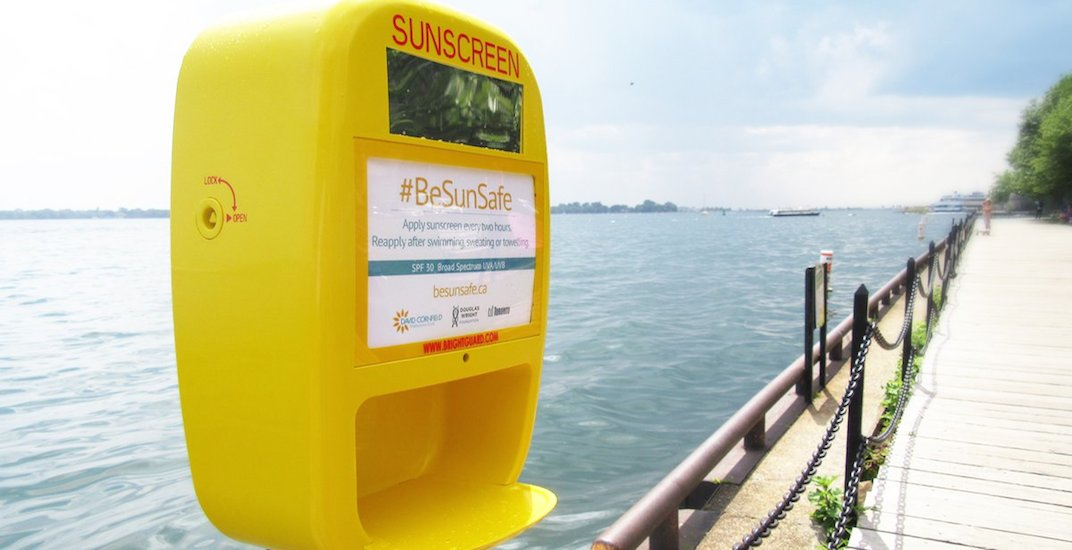Everywhere you can get free sunscreen in Toronto this summer (MAP)