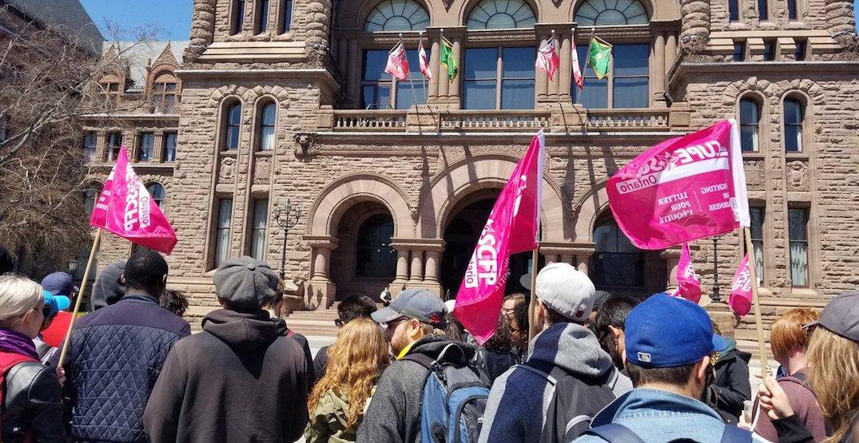 Ontario government introducing legislation to end York University strike