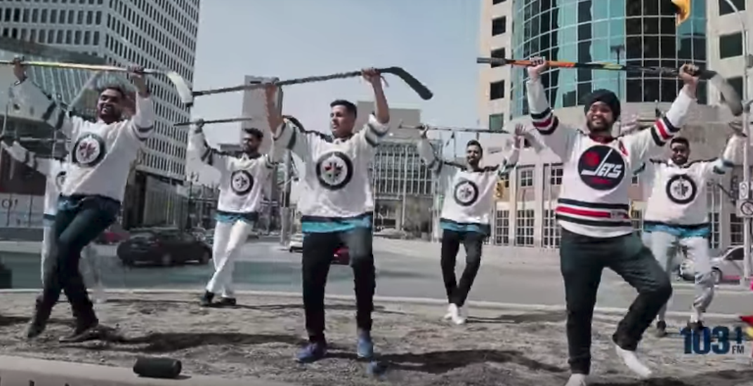 Winnipeg Jets Bhangra is here and it's spectacular (VIDEO)