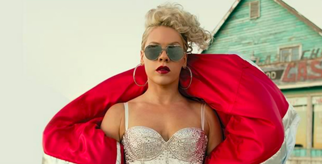 Win tickets to see P!NK live in Vancouver in April 2019 (CONTEST)