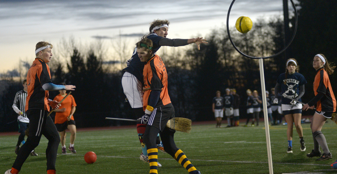 Catch the Golden Snitch with this Vancouver Quidditch league
