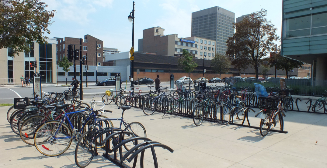 Nearly 1,000 bike racks will be added to the downtown Montreal area