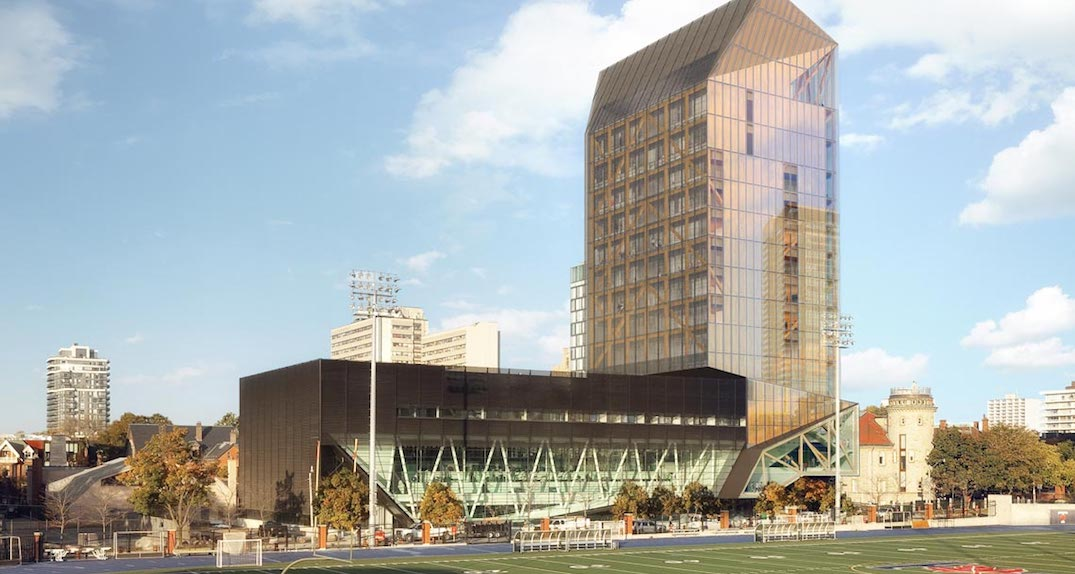 U of T is getting a 14-storey academic tower made of wood (PHOTOS)