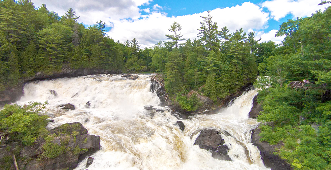You need to see these stunning waterfalls near Montreal