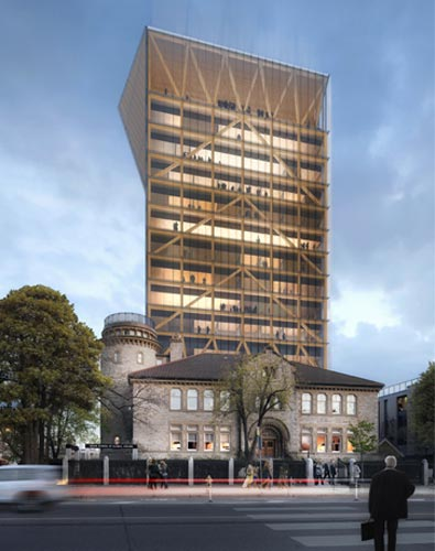 U Of T Is Getting A 14 Storey Academic Tower Made Of Wood