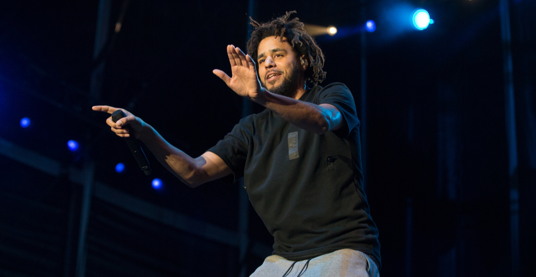 J. Cole to perform at the Air Canada Centre this October
