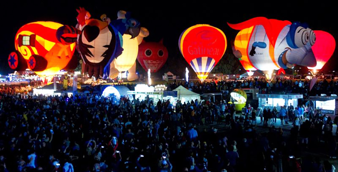 Fireworks, amusement park, and a hot air balloon festival coming to Gatineau this summer