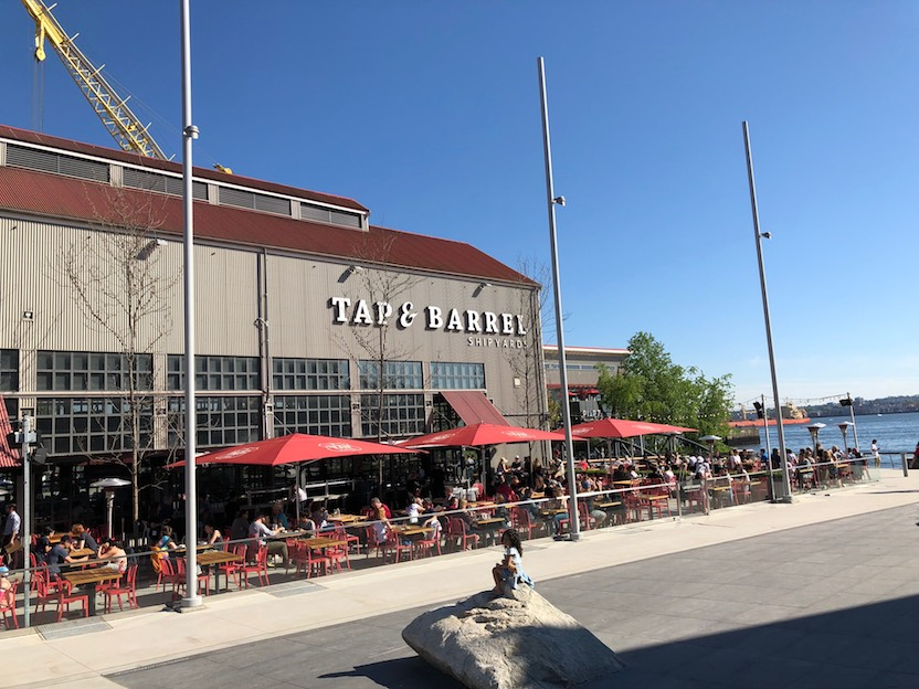 Tap & Barrel Shipyards Patio