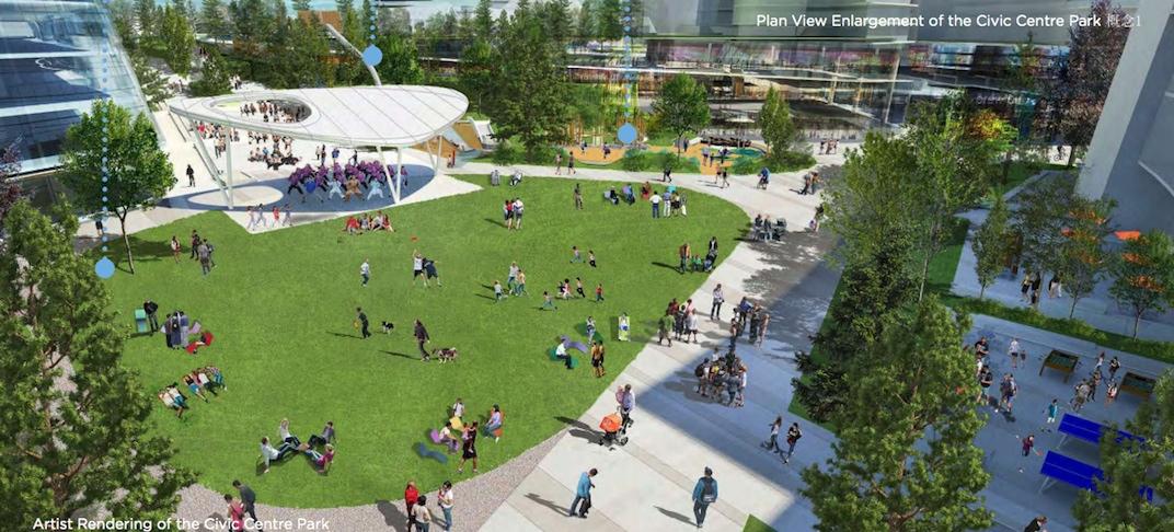 Oakridge Centre Rooftop Park