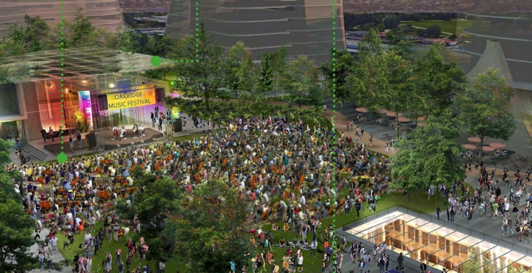 The refined concept for 9-acre rooftop park at Oakridge Centre is beautiful (RENDERINGS)