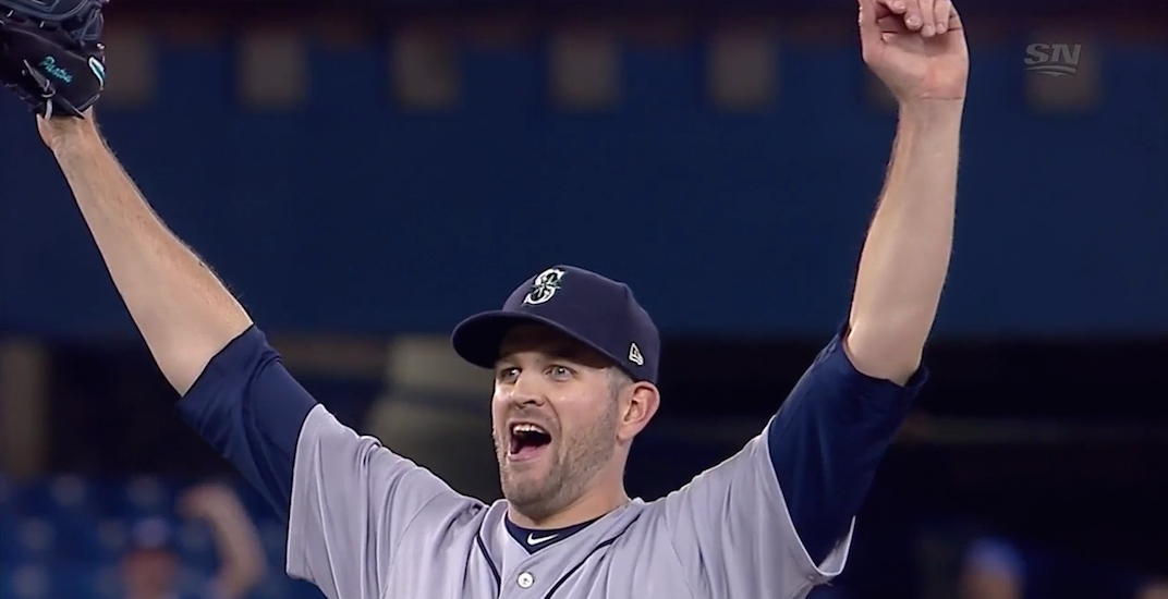Mariners' Paxton pitching no-hitter through 6 vs Blue Jays