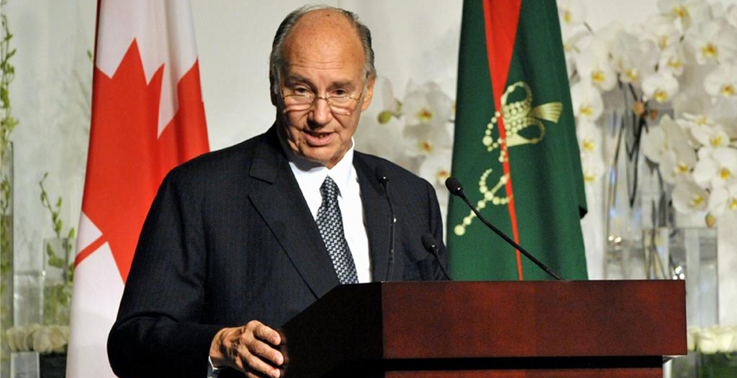 Aga Khan to be awarded UBC and SFU honorary degrees in joint ceremony