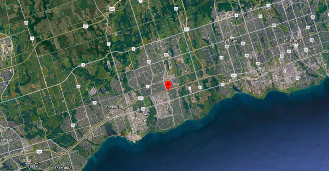A small earthquake struck southern Ontario Tuesday evening