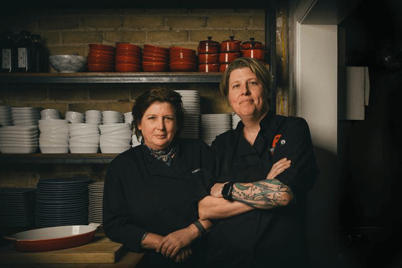 Open Kitchen lynn crawford
