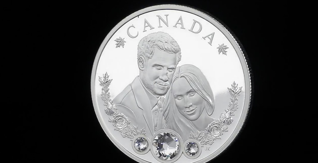 Royal Canadian Mint releases Prince Harry and Meghan Markle engagement coin