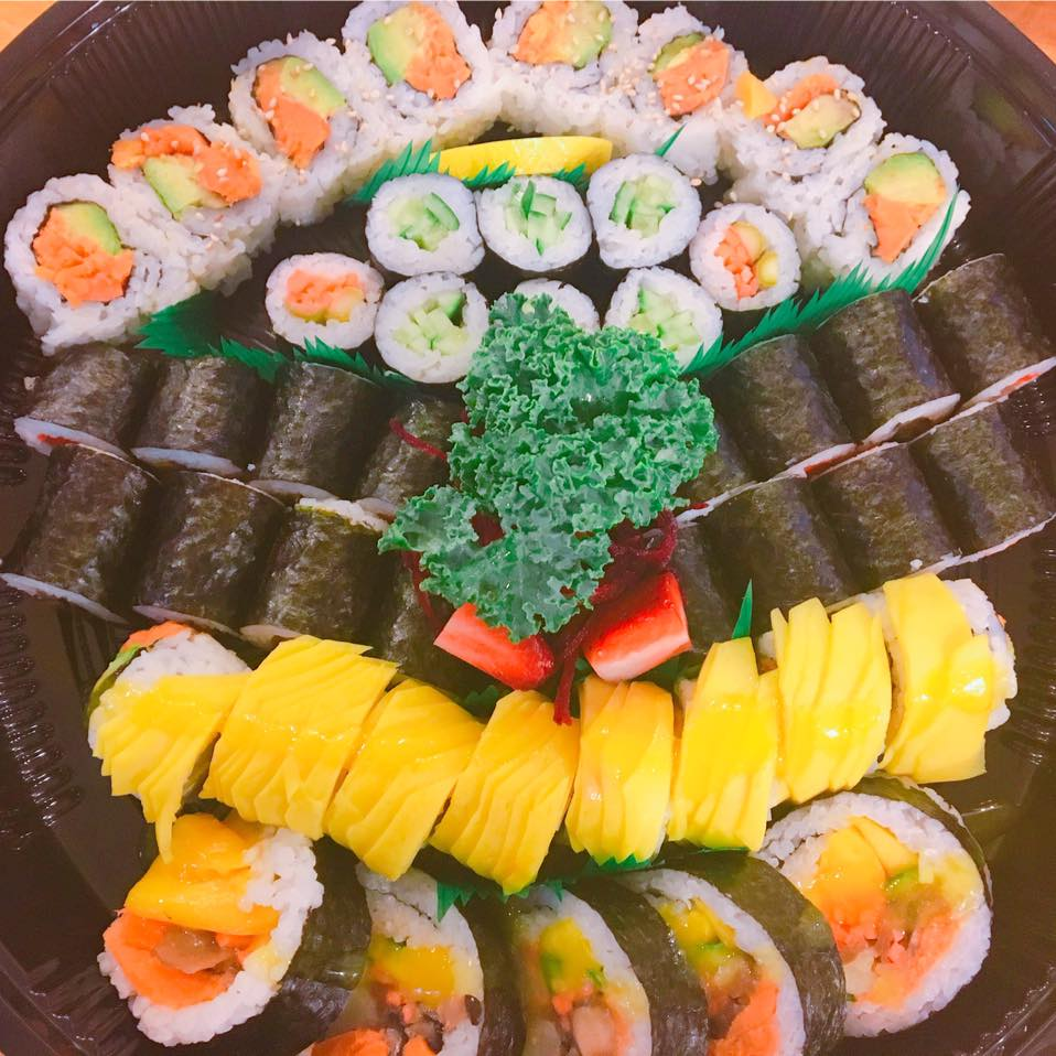 cheap and delicious sushi