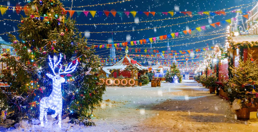 Christmas festival winter