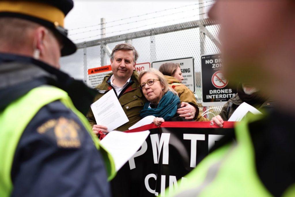 Kennedy stewart Elizabeth may arrested