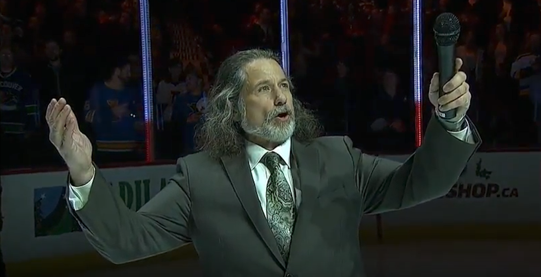 Canucks anthem singer Mark Donnelly wants to run in upcoming election