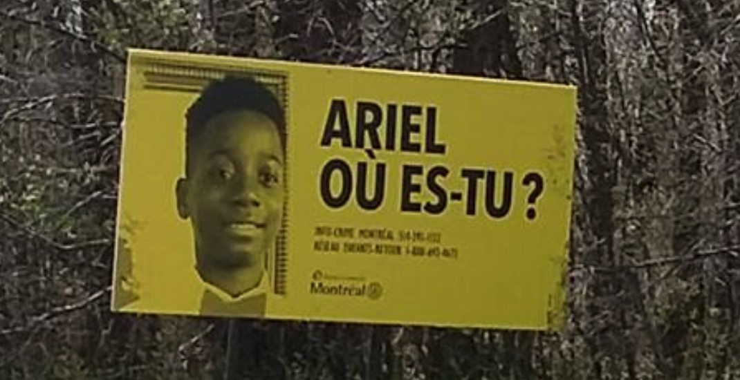 Billboard campaign launched in hopes of finding missing boy Ariel Kouakou