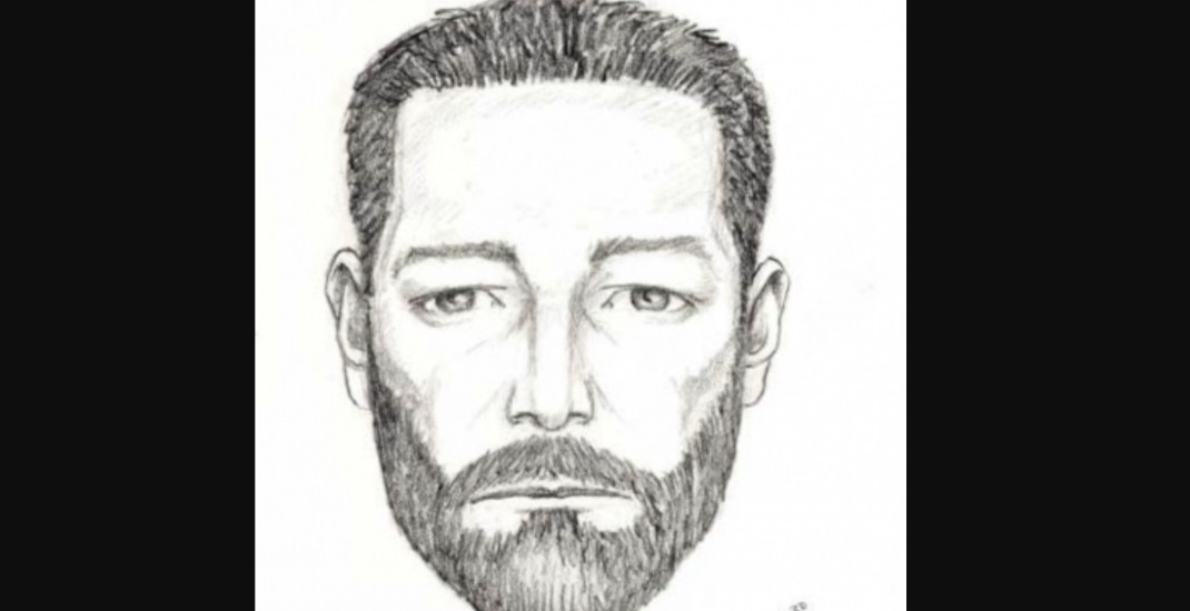 Delta Police release sketch of sexual assault suspect