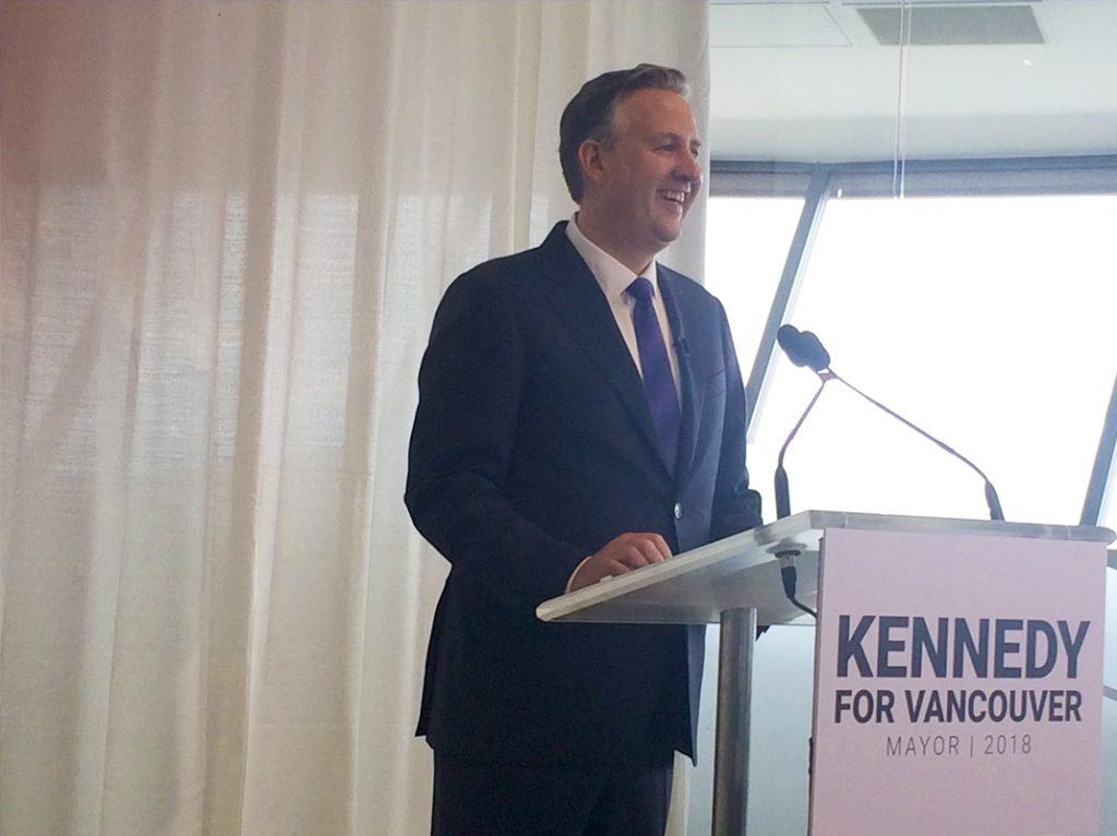 Kennedy stewart mayor vancouver