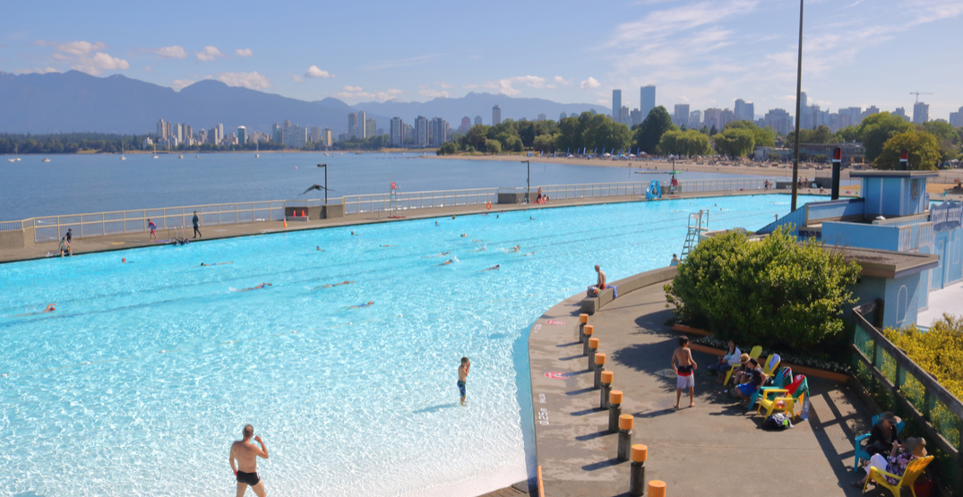 3 of Vancouver's outdoor pools open this May 2019