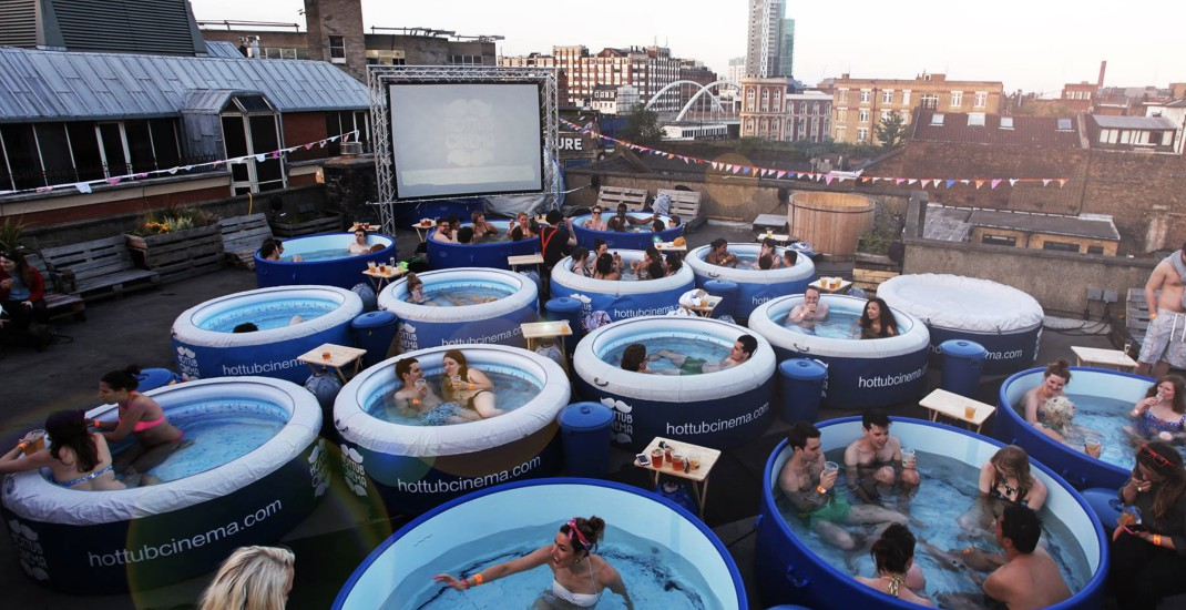 Official lineup for Vancouver's hot tub movie nights released