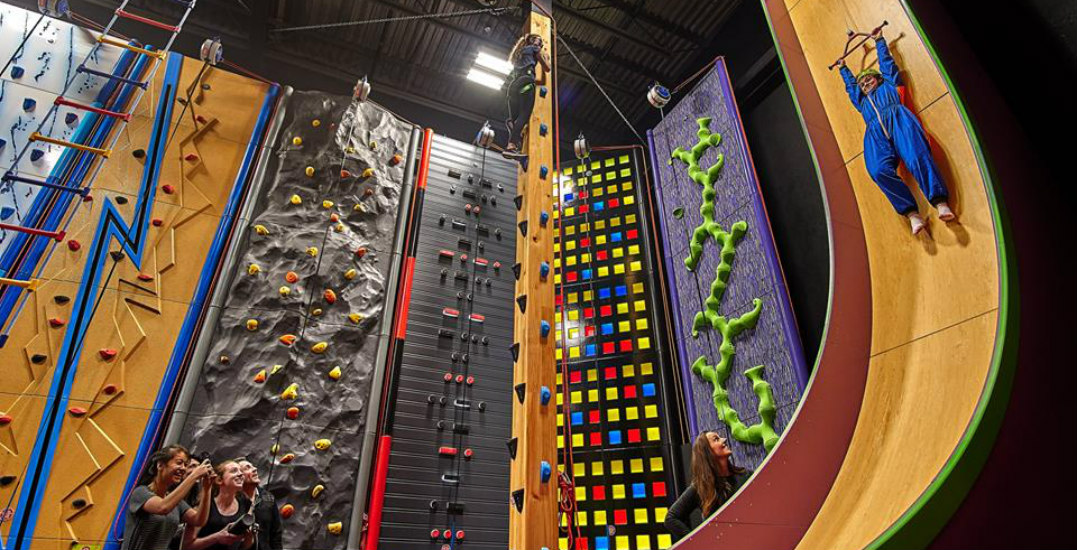 Challenge yourself (from 28 feet off the ground!) at this Richmond rock climbing centre
