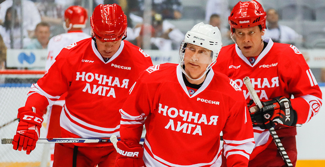 Vladimir Putin outscores Pavel Bure, other former Russian NHL stars