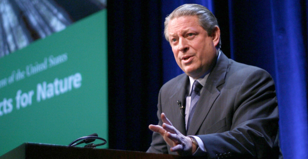 Al Gore calls Kinder Morgan pipeline expansion a 'step backwards'