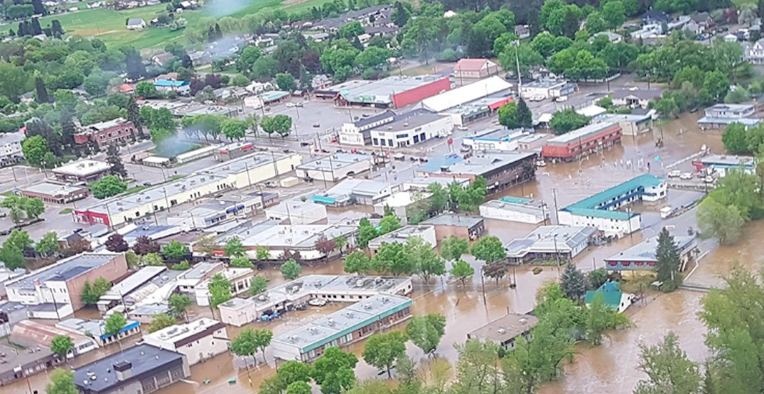 Thousands forced from their homes as flooding hits BC Interior