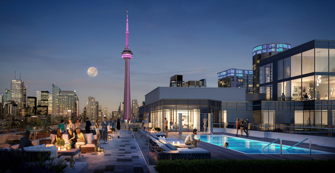 This purpose-built rental tower in Toronto will have an epic rooftop