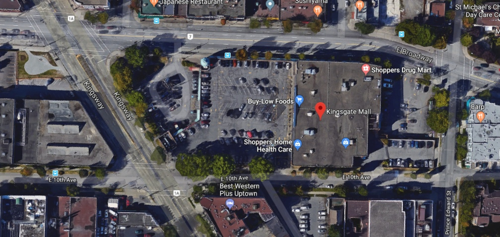 Kingsgate Mall Vancouver