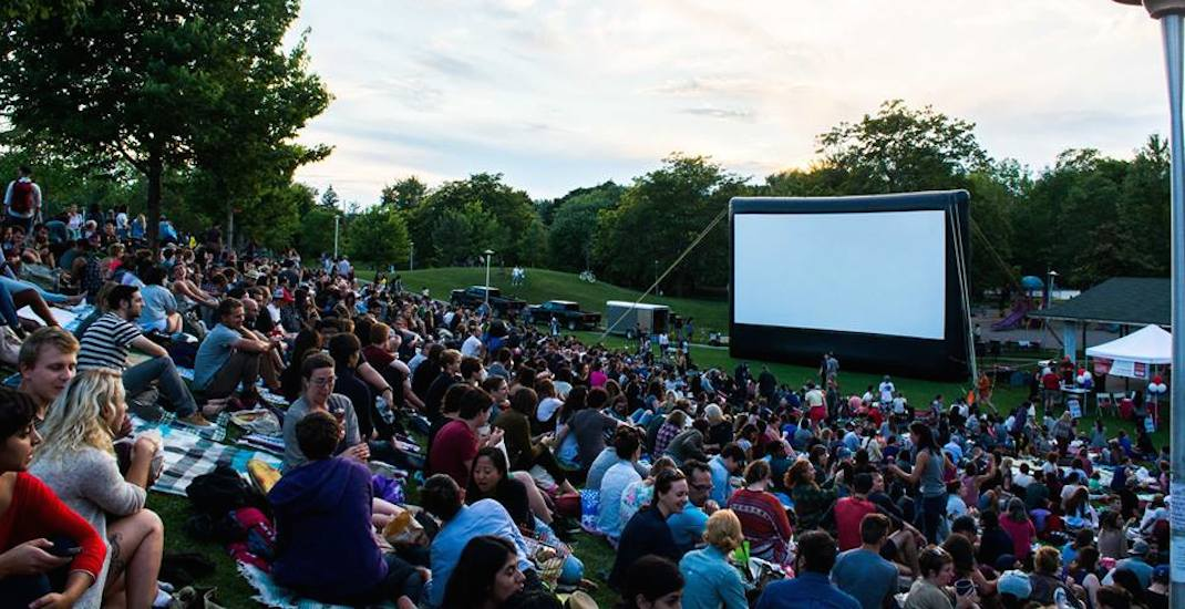 You can watch movies for FREE under the stars in Toronto this summer