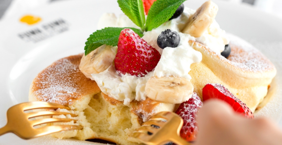 Get a free soufflé pancake in Toronto this weekend