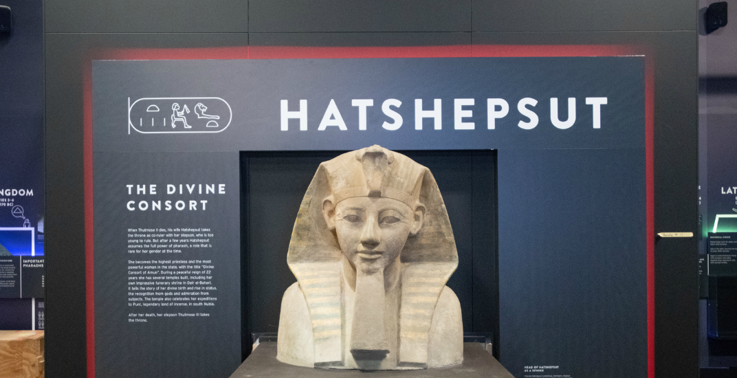 One of the only female Pharaohs in history is coming to the Royal BC Museum