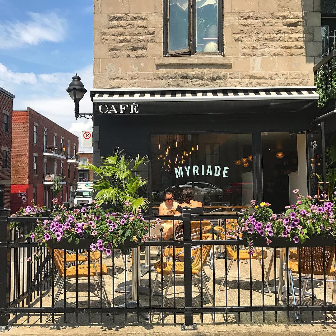 cafe myriade patio