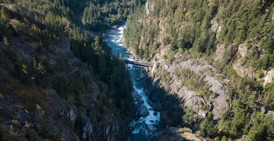 RCMP conducting search after man swept into the Squamish River