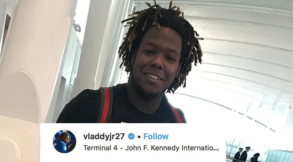 Guerrero Jr sends Blue Jays fans into a frenzy after cryptic Instagram post